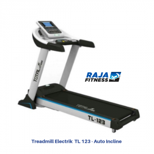 Treadmill Elektrik TL - 123 Auto Incline