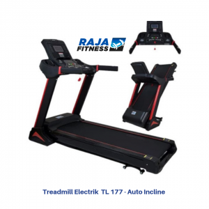 Treadmill Elektrik TL-177 Auto Incline