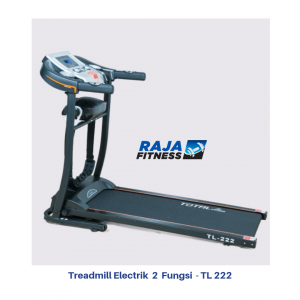 Treadmill Elektrik 2 Fungsi TL-222 Manual Incline